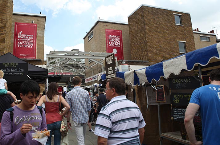 Greenwich-Market-Londres