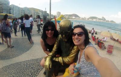 Estatua Drummond Copacabana