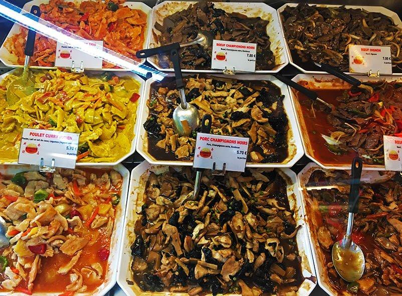 comida asiática barata em Nice