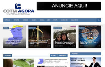 Coluna das Estrangeiras no Jornal Cotia Agora