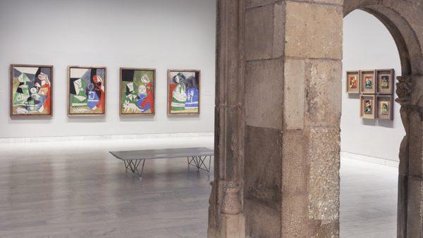 Museu Picasso de Barcelona / Sala de Las Meninas. Foto: Juan Ávila /  Museu Picasso y el Arxiu Històric de la Ciutat de Barcelona-Arxiu Fotogràfic–AHCB-AF