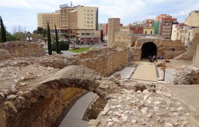 Ruínas romanas em Tarragona