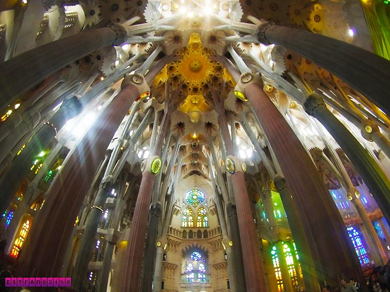 Sagrada Familia teto gopro