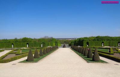 Mais uma foto dos jardins do Palácio de Versailles...