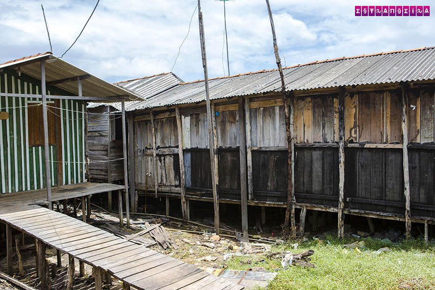 Palafitas em Raposa - Maranhão