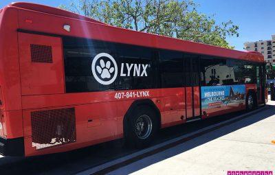 Ônibus Lynx - o seu amigo em Orlando