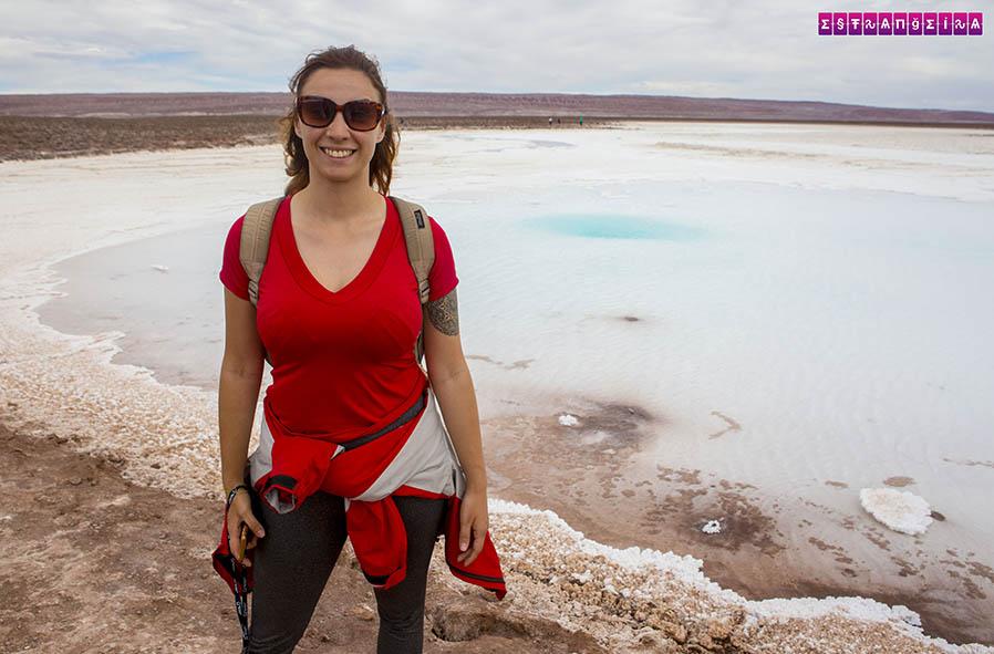 Lagunas Escondidas no Atacama