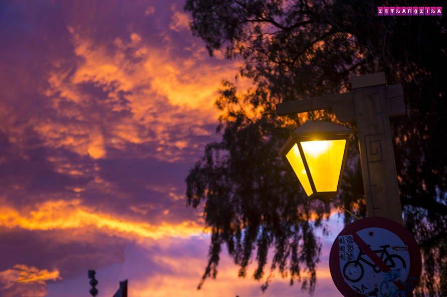 Pôr do sol em San Pedro de Atacama