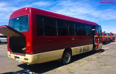 ônibus transfer Calama para San Pedro de Atacama
