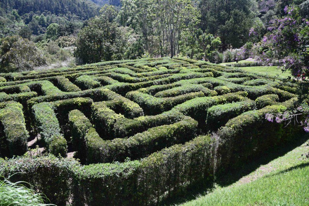 Labirinto, diversão garantida. Foto: Viagem em Detalhes