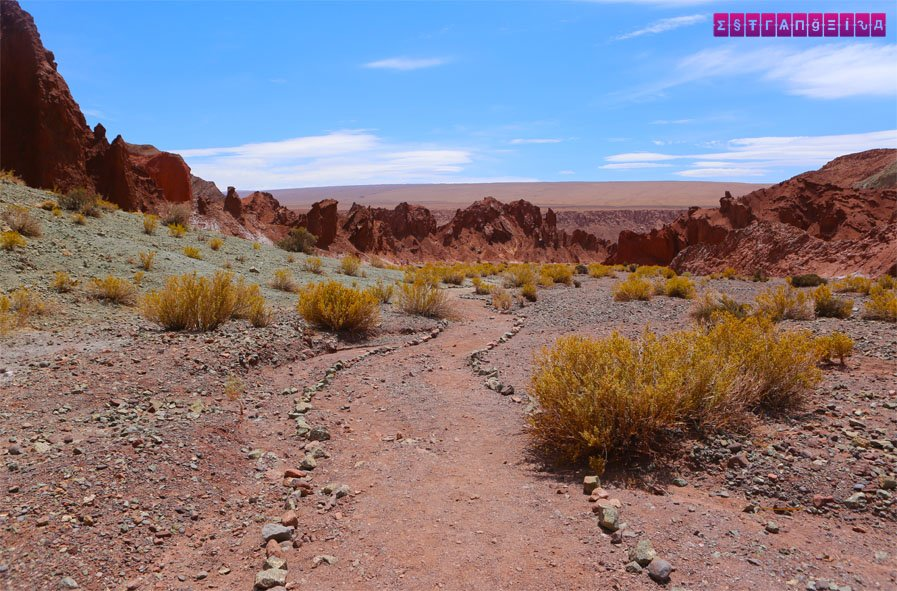 O Atacama dá um show de beleza!