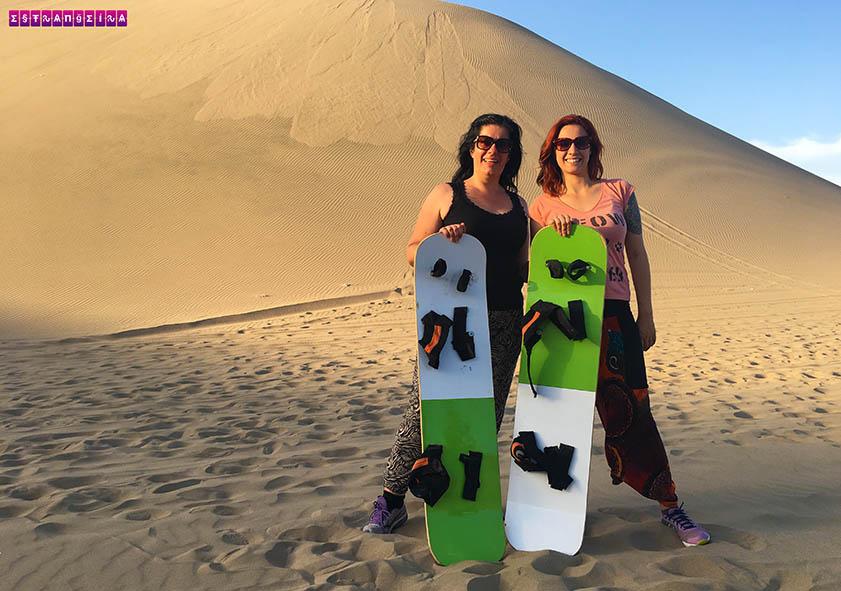 Sandboard nas dunas de Huacachina e tour de pisco e vinho em Ica – Peru