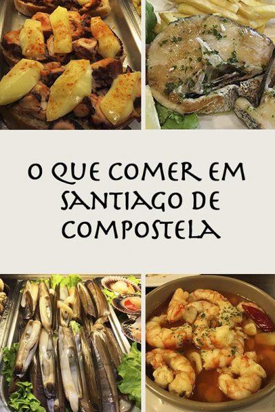 o que comer em Santiago Compostela