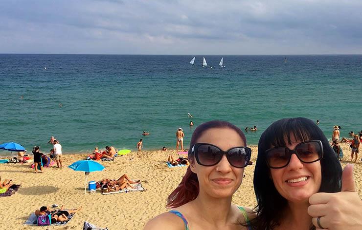 As melhores praias de Barcelona