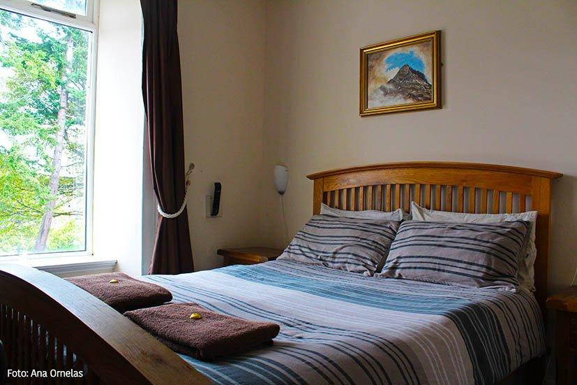 Meu quarto no Bazpackers Hostels